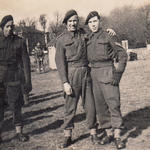 Cpl Harold Harbert (right) and others from No 2 Cdo 5 tp