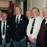 1996 Commando reunion Elliott, Wood, Davies, Spuffard, Armstrong, Neish