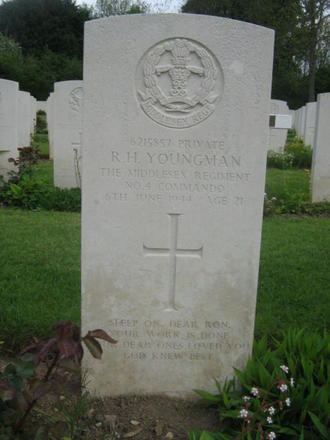 Private Ronald  Herbert Youngman
