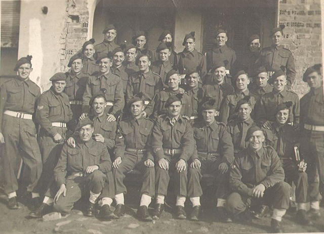 Group from No 9 Cdo (similar to another photo in the gallery)