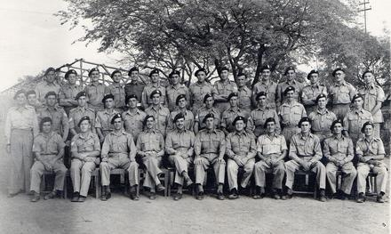 Warrant Officers and Sergeants No.5 Commando 1945