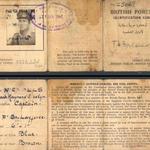 Capt Nicholls ID card
