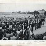 Dedication of the Memorial Bronze Plaque St Nazaire 2nd August 1947