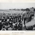 Dedication of the Memorial Bronze Plaque St Nazaire 2nd August 1947