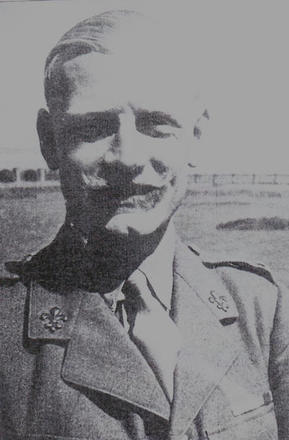 Lt. Col. Jack Churchill DSO, MC,  OC No. 2 Commando 1942-44