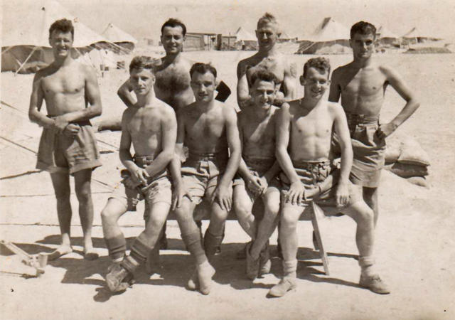 Some from No11 Commando 8 troop in Egypt