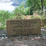 Operation Hardtack 28 Memorial at Petit Port, Trinity, Jersey.