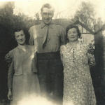Patrick and his wife Margaret and Patrick's Mum