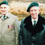 Robert Armstrong (right) and another, both Bde Signals