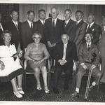Henry Ole Gulliksen 5 tp No 10 (IA) Cdo. and others at a 1978 reunion