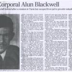 Alun Blackwell DCM