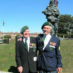 Bob Bartholomew & Arthur Baseley, both of No.5 Commando.