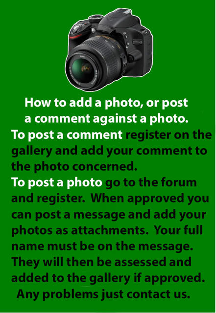 Adding photos or posting a comment against any photo is easy