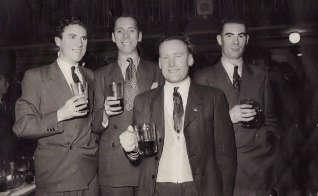 Bob Donnison and others from No.5 Commando