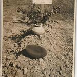 Original grave of Fusilier Leonard Frederick Tungatt