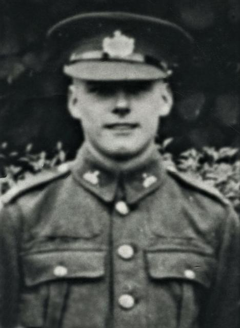 Pte. Roy Frank Thomas, MM