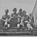Arthur Baseley, Sgt Ted Tharme, Bert, Titch Dyson