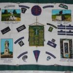 Commando Association xmas souvenir  tea towel