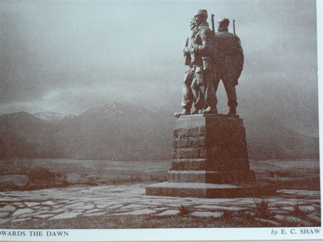 Commando  Memorial Spean Bridge 1952