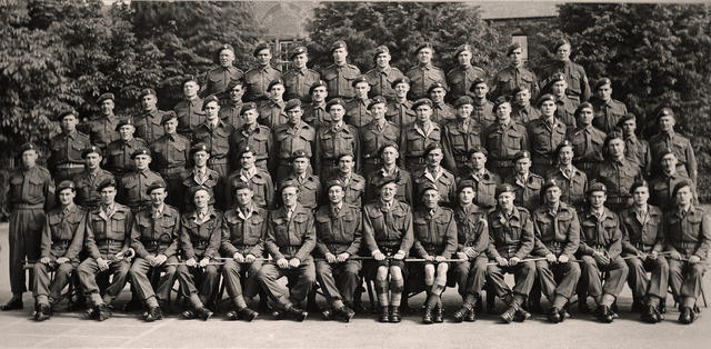 Officers, WOs & Sgts, Holding Operational Commando, Wrexham, June 1944