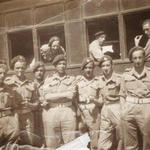 Warwick Neild-Siddall 41RM Cdo. and others in 1943