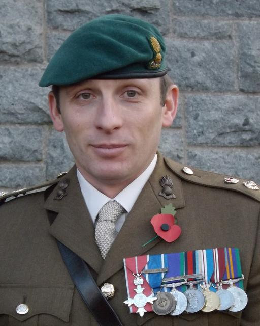Lt Col Tom J Salberg, MBE RE.