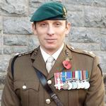 Lt Col, Tom Salberg, MBE, CVA Chairman.