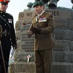 Lt Col Tom Salberg, MBE at The Commando Monument