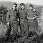 Jim Smith, Fred Peachey, Arnold Stubs, Glenfinnan 1940