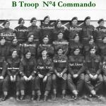 No.4 Commando B Troop Bexhill 1944.(with names)