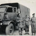 Commandos with truck