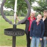 Bob Donnison of No. 5 Commando is remembered at Alrewas