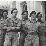 Terry Duddy and fellow commandos, Bombay