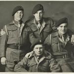 Terry Duddy and fellow commandos,