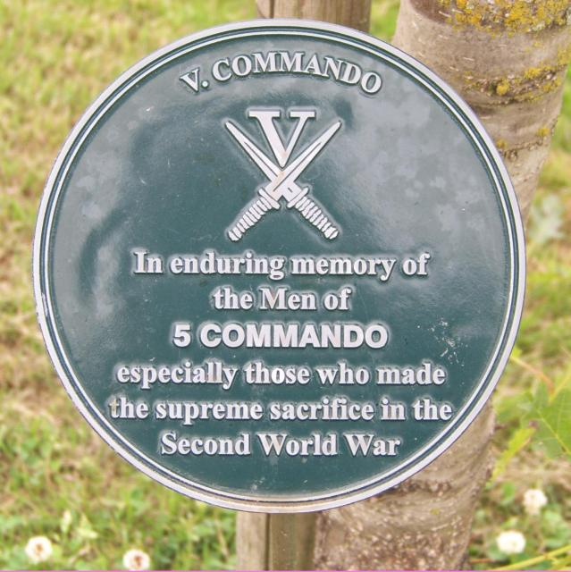 Alrewas Memorial Plaque; No5 Cdo