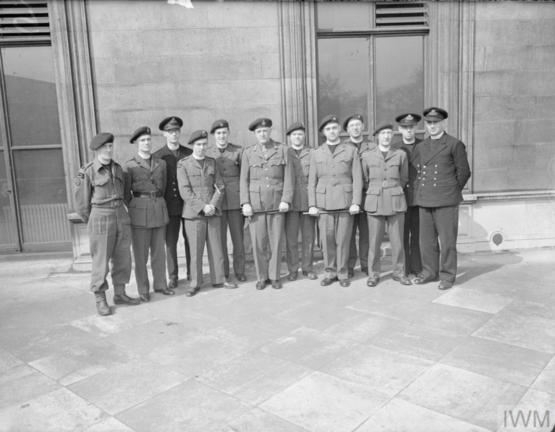 Combined Operations Chaplains Meeting 12th April 1944.