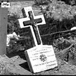 Grave of Guardsman Leslie Campbell No 3 Commando