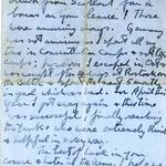 Letter to Harry Richman from Lt Col Jack Churchill.