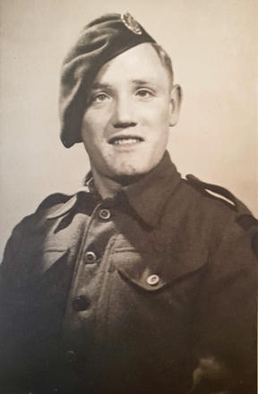 Pte. James Daniel Cox, No.3 Cdo