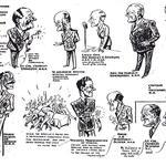 First CA reunion dinner cartoon - 12 Dec. 1946
