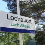 Lochailort Railway Station