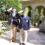 Major Mike Stilwell CBE MC and Lt Bob Bishop MC