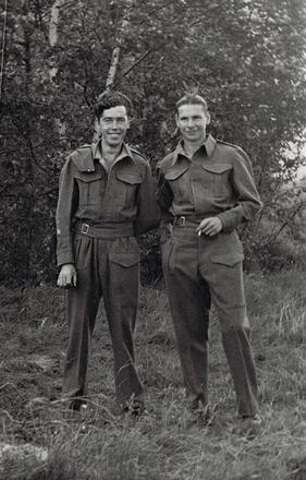 TSM Peter McKee & Unknown Stalag IV A