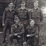 TSM  Peter McKee and 4 others at Stalag IV A
