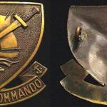 No. 10 (IA) Commando  1 & 8 (French) Troops - Cap Badge
