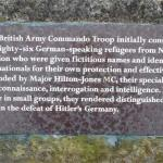 Memorial to No10 (IA) Cdo. 3 Troop,
