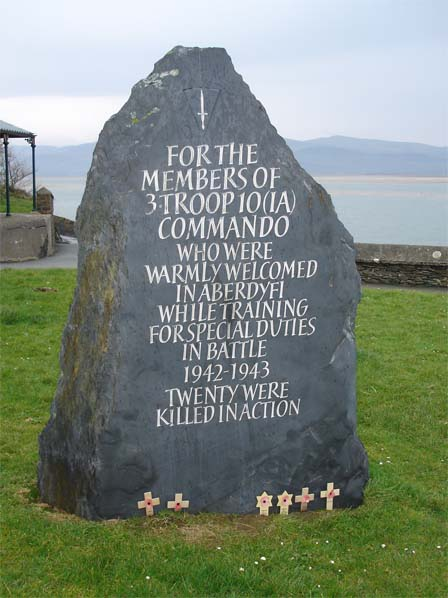 Memorial in honour of No10 (IA) Cdo. 3 Troop,