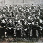 Bob Tout and others, No 4 Cdo French troop.
