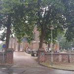 Entrance to St Martinus Kerk, Linne, The Netherlands