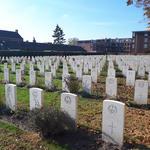 Uden War Cemetery graves